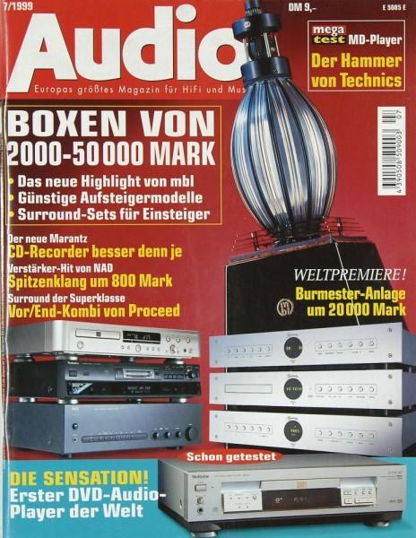 Audio 7/1999 Zeitschrift