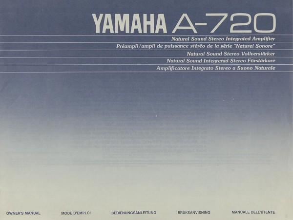 Yamaha A-720 Bedienungsanleitung