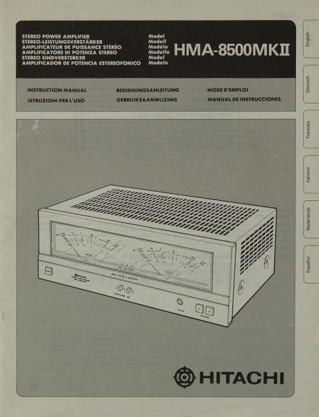 Hitachi HMA-8500 MK II Bedienungsanleitung