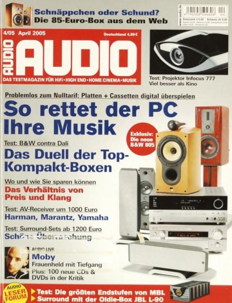 Audio 4/2005 Zeitschrift