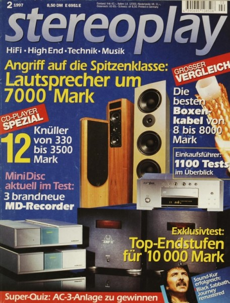 Stereoplay 2/1997 Zeitschrift