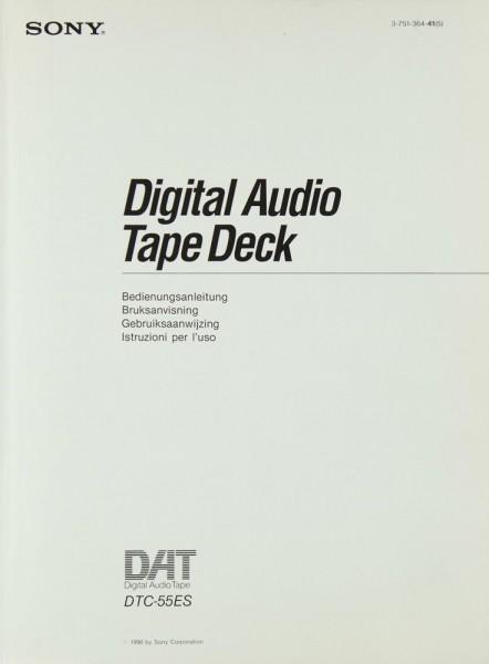 Sony DTC-55 ES Bedienungsanleitung