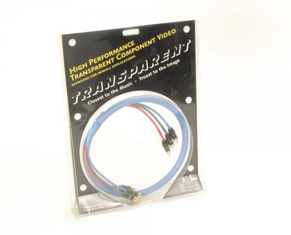 Transparent HPC1 Component Videokabel
