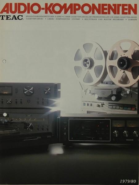 Teac Audio Komponenten 1979/80 Prospekt / Katalog