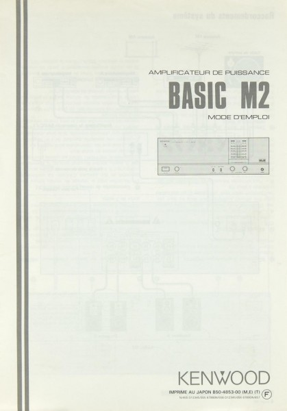 Kenwood Basic M 2 Bedienungsanleitung