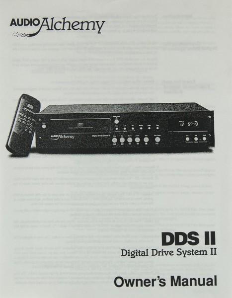 Audio Alchemy DDS II Bedienungsanleitung
