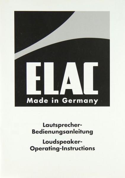 Elac CLS Center Bedienungsanleitung