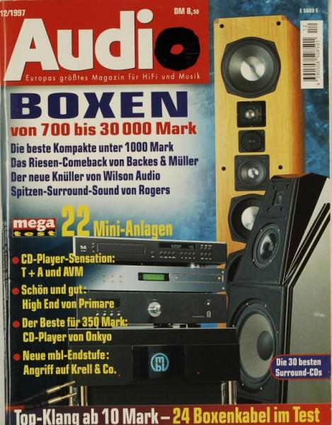 Audio 12/1997 Zeitschrift