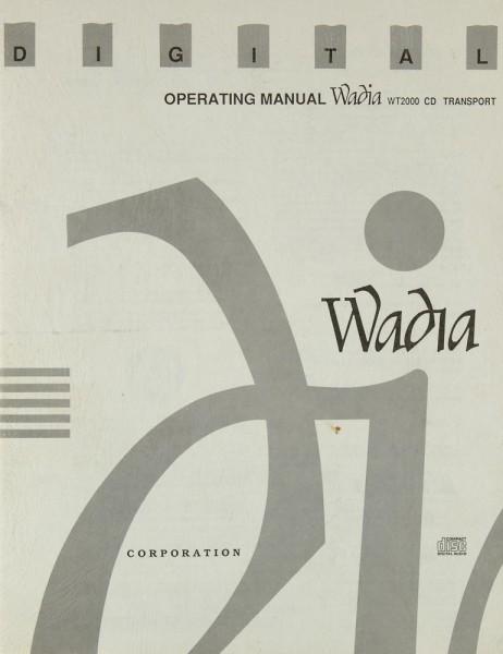 Wadia WT 2000 Bedienungsanleitung