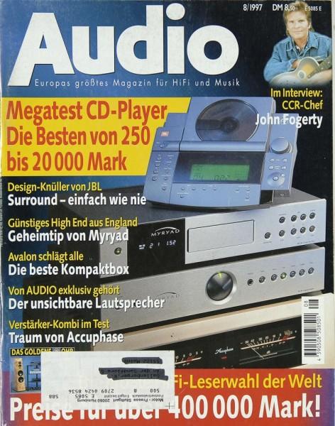 Audio 8/1997 Zeitschrift