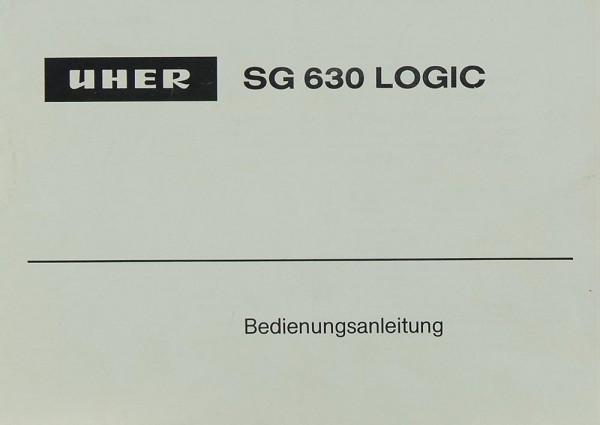 Uher SG630 Logic Bedienungsanleitung