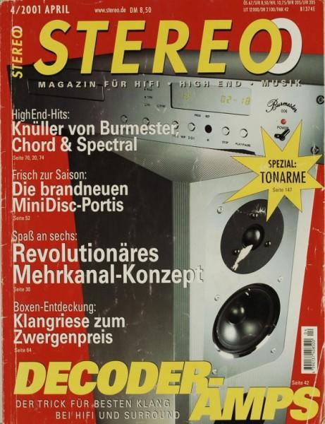 Stereo 4/2001 Zeitschrift