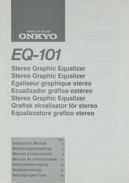Onkyo EQ-101 Bedienungsanleitung