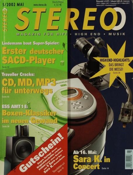 Stereo 5/2002 Zeitschrift