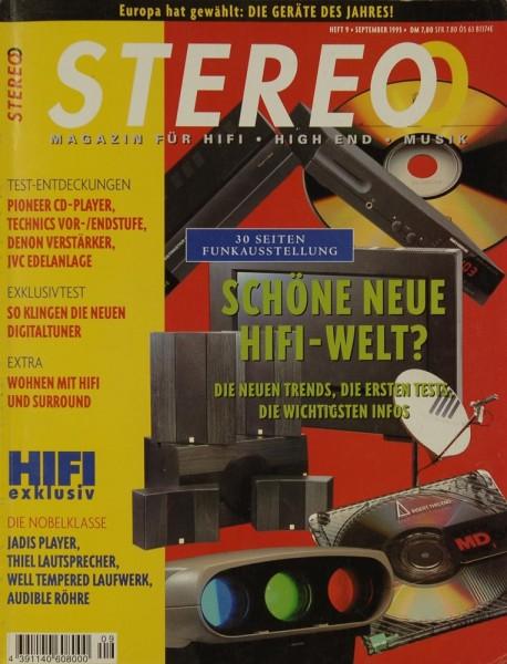 Stereo 9/1995 Zeitschrift