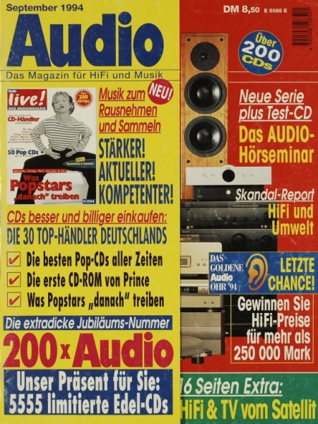 Audio 9/1994 Zeitschrift