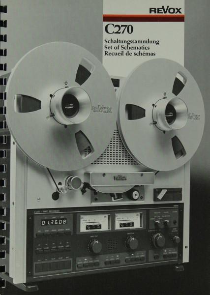 Revox C 270 Schaltplan / Serviceunterlagen | Tonbandgeräte | Revox ...