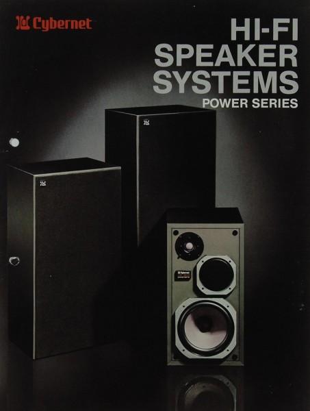 Cybernet Hifi Speaker Systems - Power Series Prospekt / Katalog