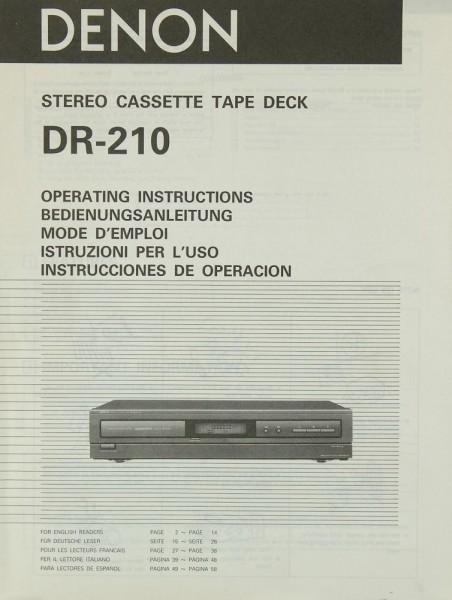 denon drm 800 service manual
