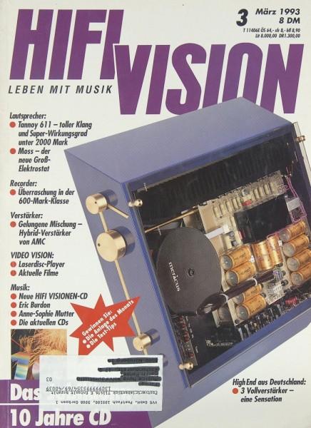 Hifi Vision 3/1993 Zeitschrift