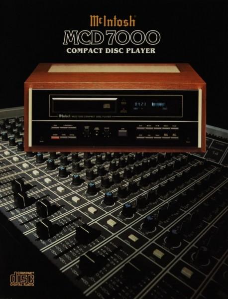 McIntosh MCD 7000 Prospekt / Katalog