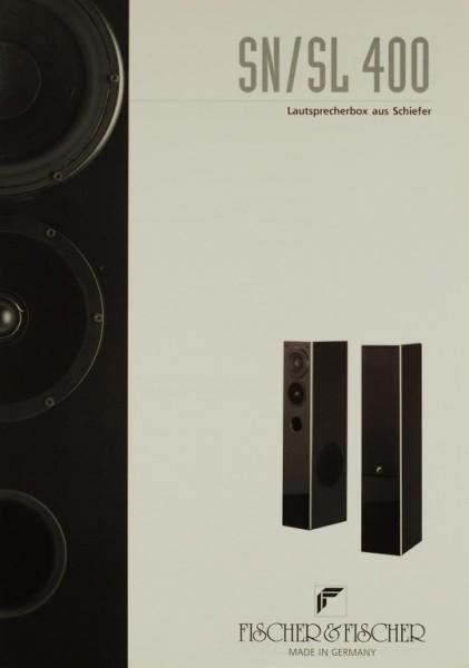 Fischer & Fischer SN / SL 400 Prospekt / Katalog