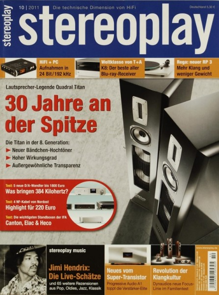 Stereoplay 10/2011 Zeitschrift