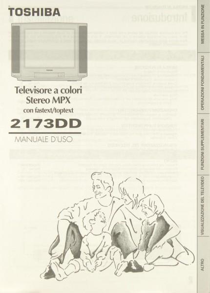 Toshiba 2173 DD Bedienungsanleitung