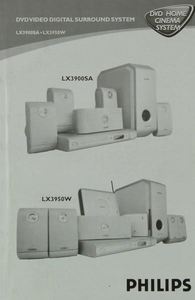 Philips LX 3900 SA / LX 3950 W Bedienungsanleitung