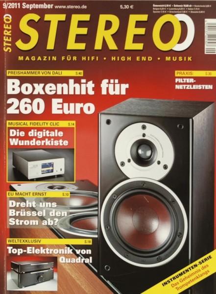 Stereo 9/2011 Zeitschrift