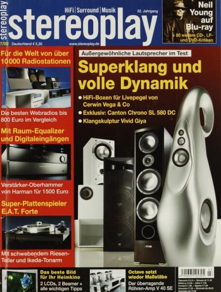 Stereoplay 7/2009 Zeitschrift