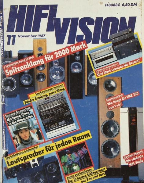 Hifi Vision 11/1987 Zeitschrift