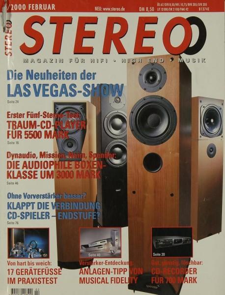 Stereo 2/2000 Zeitschrift