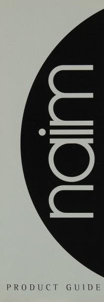 Naim Product Guide Prospekt / Katalog