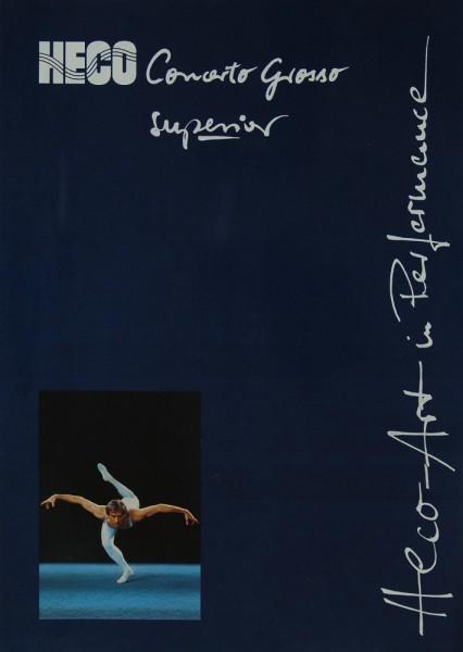 Heco Concerto Grosso Superior Prospekt / Katalog