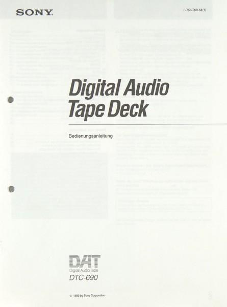 Sony DTC-690 Bedienungsanleitung