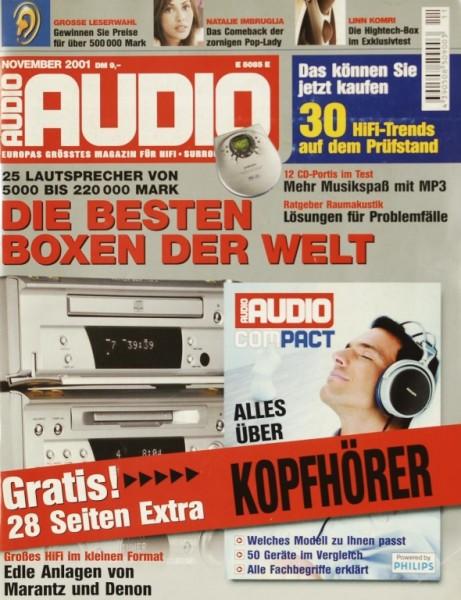 Audio 11/2001 Zeitschrift