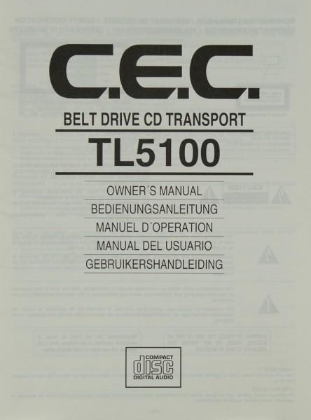 C.E.C. TL 5100 Bedienungsanleitung