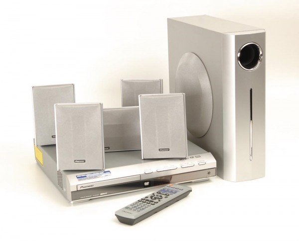 Pioneer XV-DV 303 DVD-Receiver mit Boxen