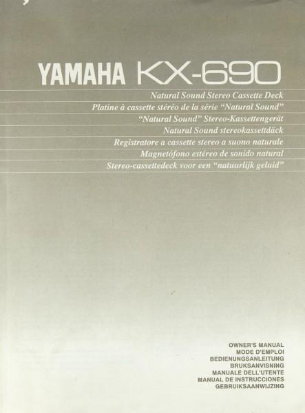 Yamaha KX-690 Bedienungsanleitung