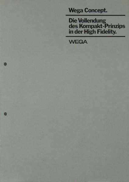 Wega Wega Concept Prospekt / Katalog