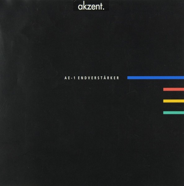 Akzent AE-1 Prospekt / Katalog