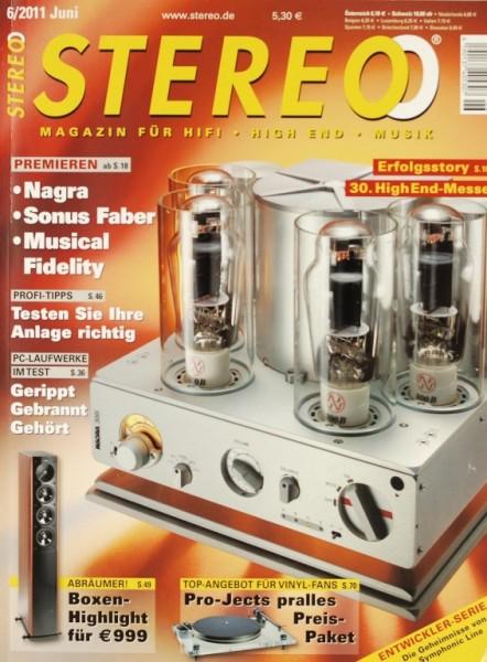 Stereo 6/2011 Zeitschrift