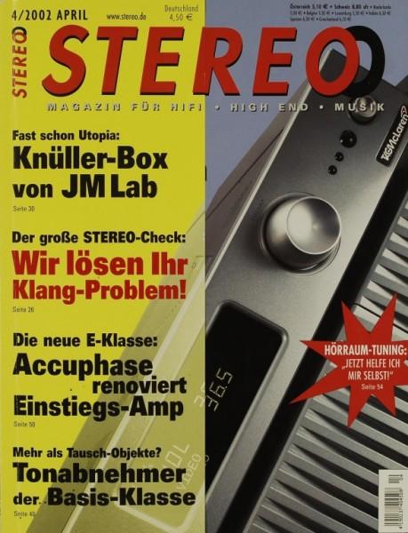 Stereo 4/2002 Zeitschrift