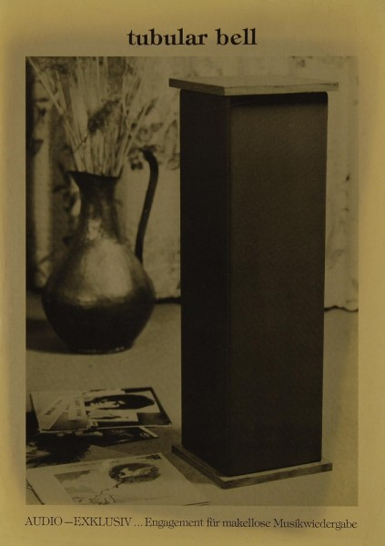 Audio-Exklusiv Tubular Bell Prospekt / Katalog