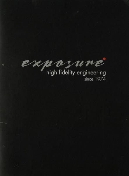 Exposure High Fidelity Engeneering since 1974 Prospekt / Katalog