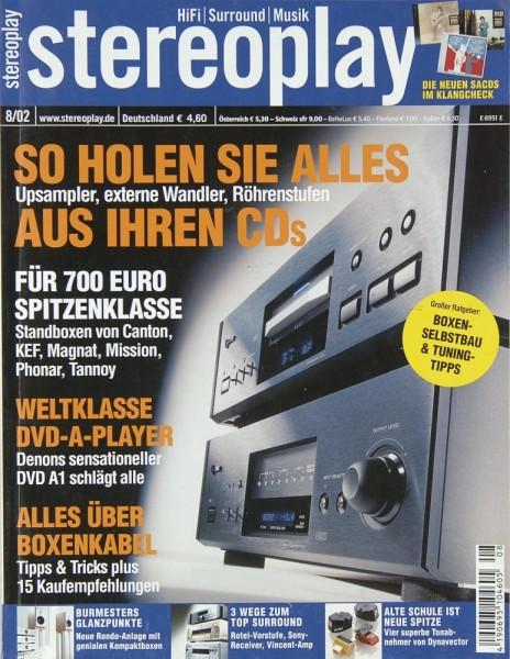 Stereoplay 8/2002 Zeitschrift