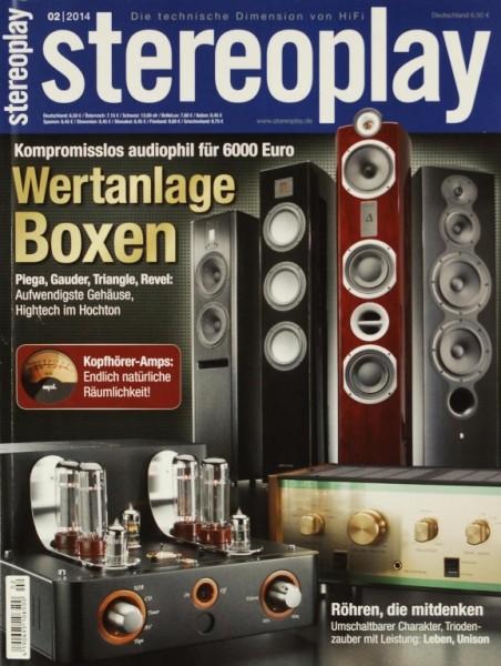 Stereoplay 2/2014 Zeitschrift