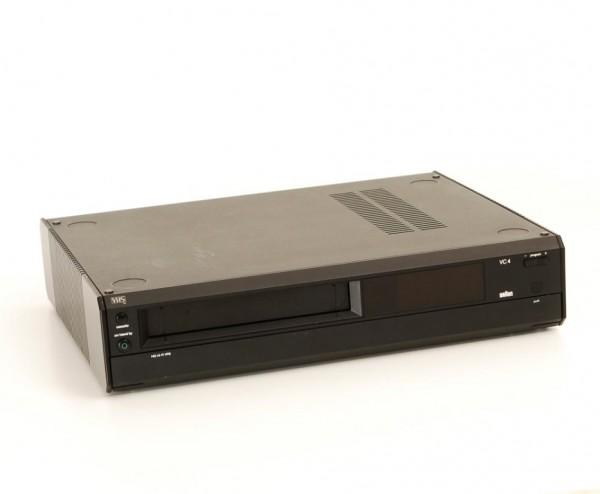 Braun VC4 schwarz Videorekorder