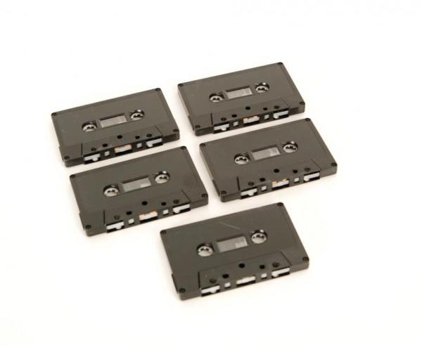 Kompaktkassette Muskikkassette C-90 neu 5er Set